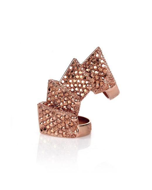 Vivienne Westwood   Regent Ring Pink Gold   Lyst