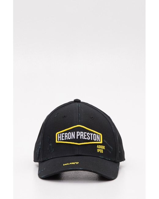 e049b3088cc Heron Preston - Multicolor Baseball Cap With Logo Patch And Contrasting  Embroidery for Men - Lyst ...