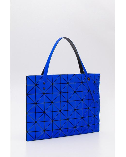 fcd6b7aa99 ... Bao Bao Issey Miyake - Blue Rock Lucent Frost Tote Bag - Lyst ...