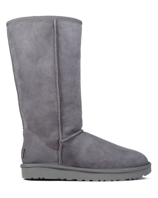 Ugg - Gray Tall Boots - Lyst