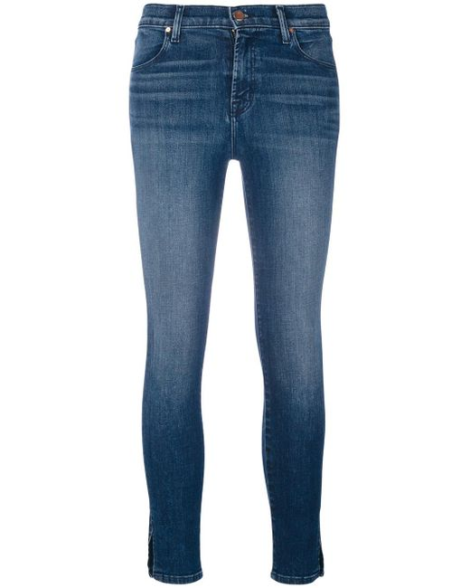 J Brand split cuff jeans Cheap Very Cheap Pay With Paypal Cheap Online Cheap Real Authentic For Nice Cheap Online Wholesale Quality xfkmBMKC