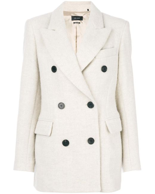 Isabel Marant | Multicolor Eley Wool And Alpaca Coat | Lyst