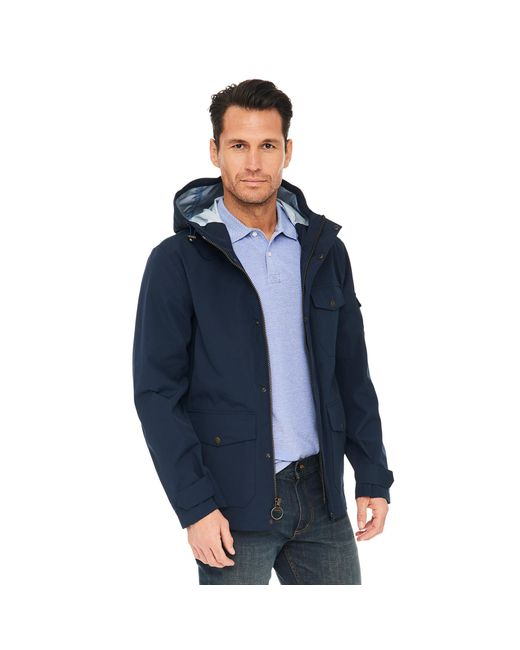 G.H. Bass & Co. - Blue Waterproof Explorer Mountain Rain Jacket for Men - Lyst