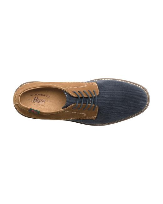 G.H. Bass & Co. | Blue Piedmont Saddle for Men | Lyst