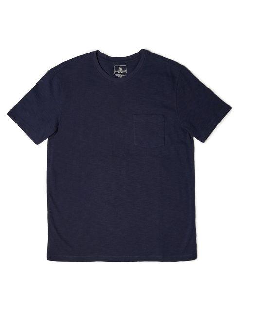 G.H. Bass & Co. | Blue Textured Pocket Tee for Men | Lyst