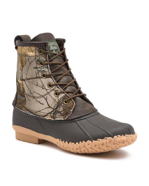 G.H.BASS Brown G.h. Bass Mallard Duck Boot for men