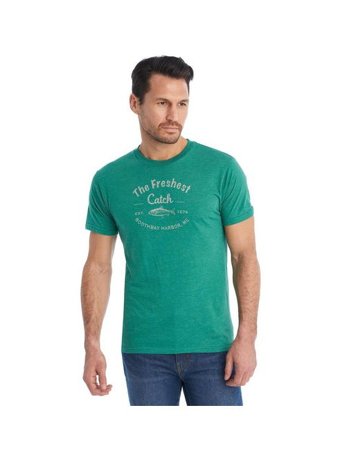G.H. Bass & Co. - Green Freshest Catch Graphic Tee for Men - Lyst