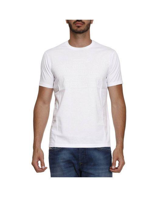 Emporio Armani | White T-shirt Men for Men | Lyst
