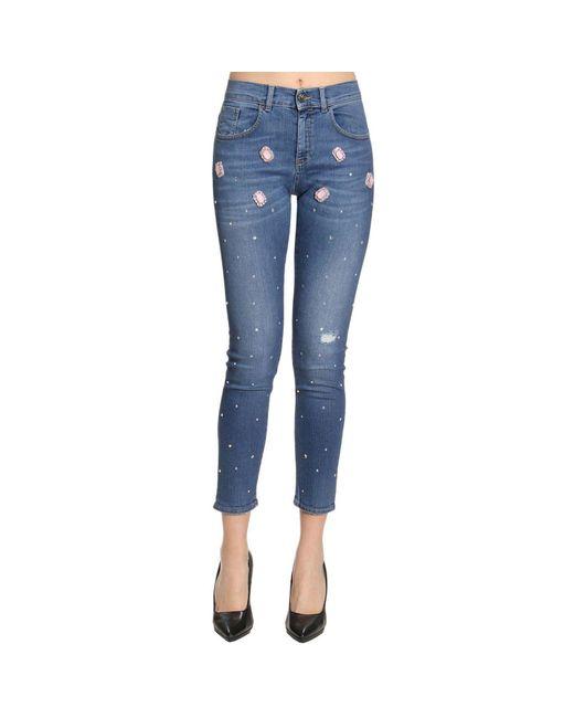 Pinko - Blue Jeans Women - Lyst