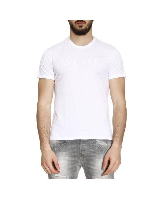 Brooksfield | White T-shirt Men for Men | Lyst