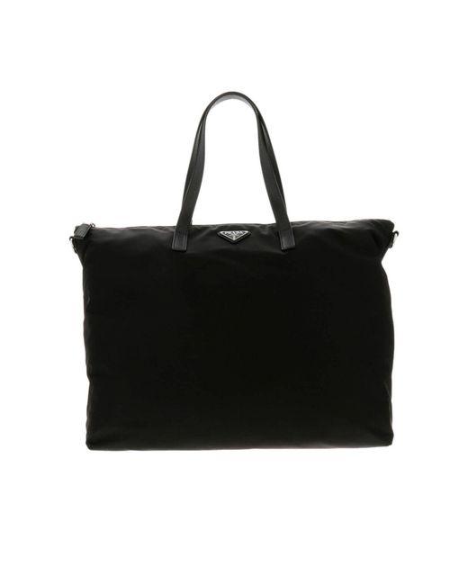 Prada - Black Bags Men for Men - Lyst ... 2781bd49d4139