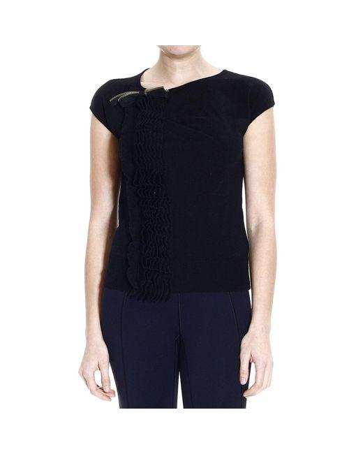 Class Roberto Cavalli | Black Roberto Cavalli Women's Sweater | Lyst