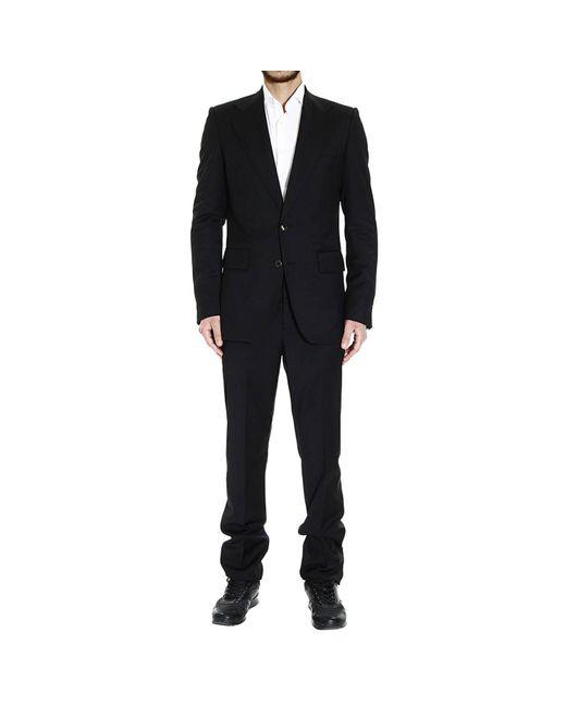 Roberto Cavalli | Black Men's Suits for Men | Lyst