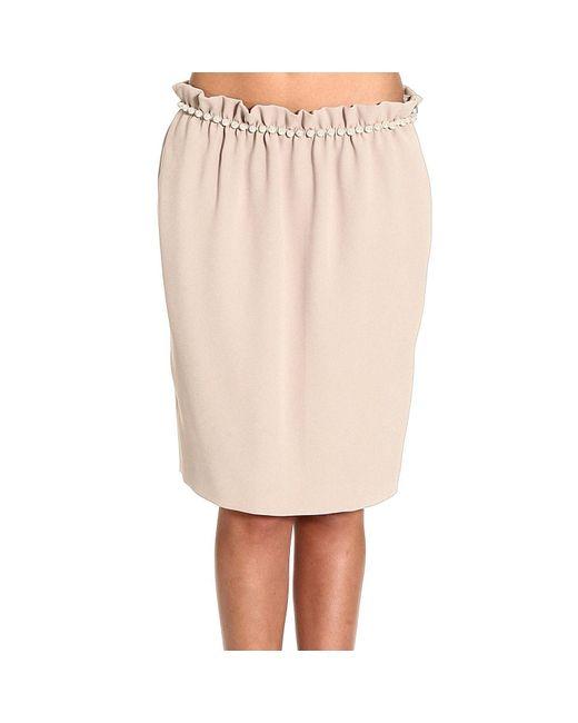 Moschino | Natural Women's Skirts | Lyst