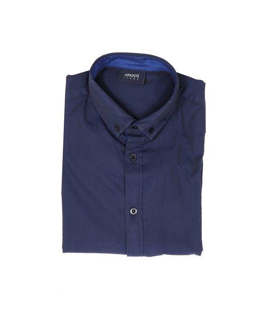 Armani Jeans - Blue Shirt Men for Men - Lyst