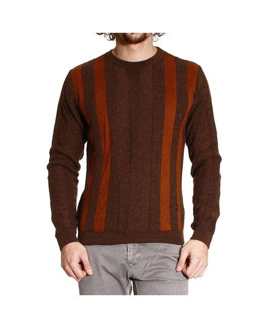 Versace   Brown Versace Men's Sweater for Men   Lyst