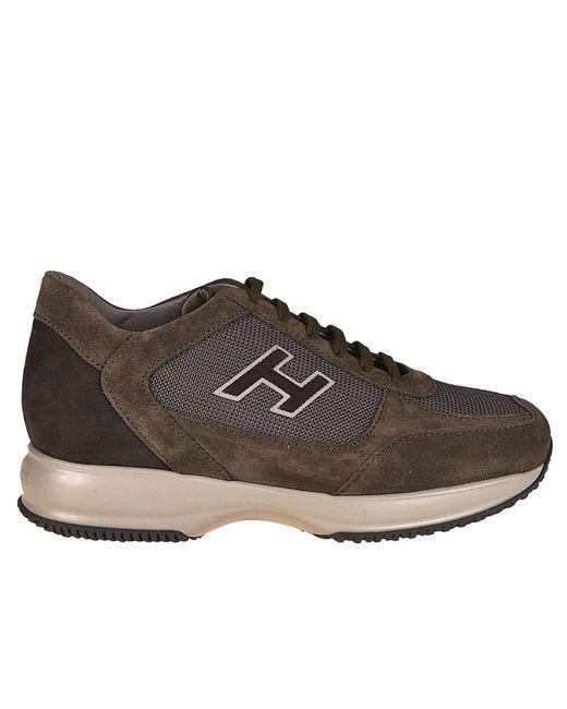 Hogan - Brown Sneakers Shoes Men for Men - Lyst