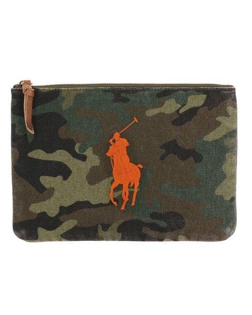 Polo Ralph Lauren - Green Bags Men for Men - Lyst