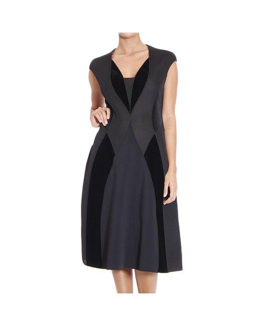 Giorgio Armani | Black Women's Dress | Lyst