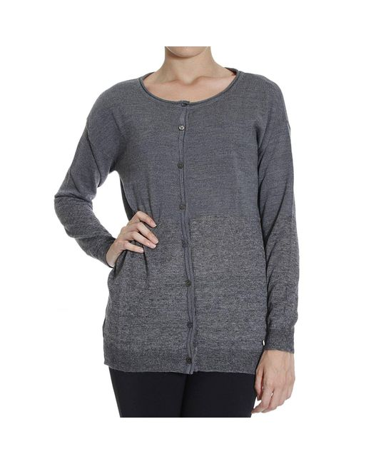 Armani Jeans | Gray Giorgio Armani Women's Sweater | Lyst