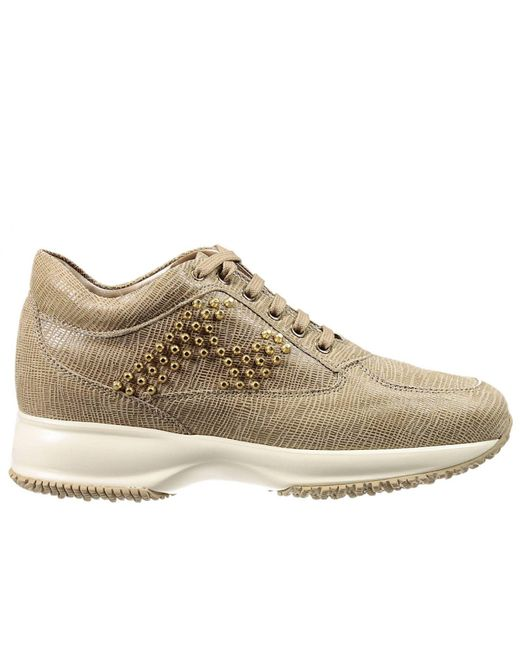 Hogan | Brown Women's Sneakers | Lyst