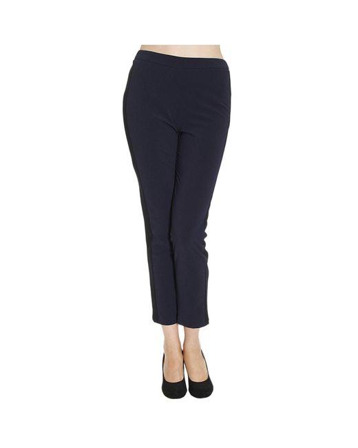 Patrizia Pepe | Blue Women's Trouser | Lyst