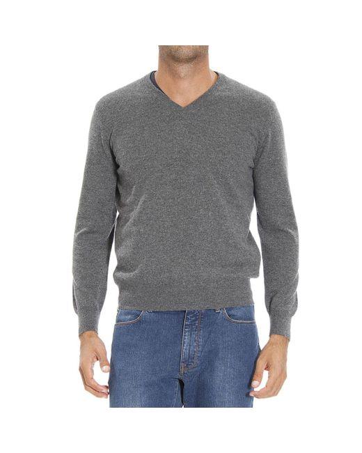 Ermenegildo Zegna | Gray Men's Sweater for Men | Lyst