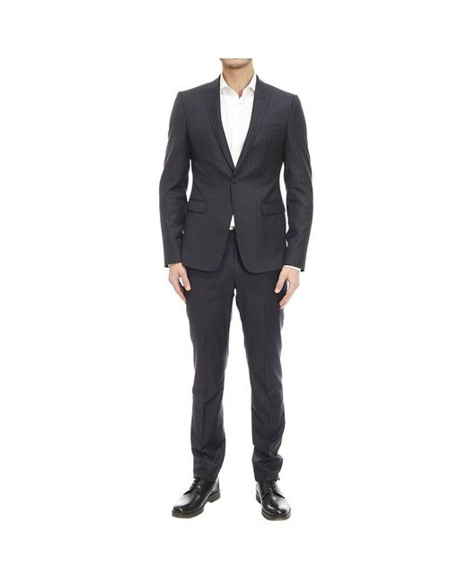 Emporio Armani | Black Suit for Men | Lyst