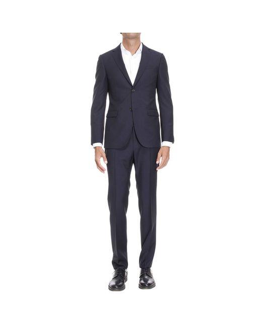 Z Zegna   Blue Suit Man for Men   Lyst