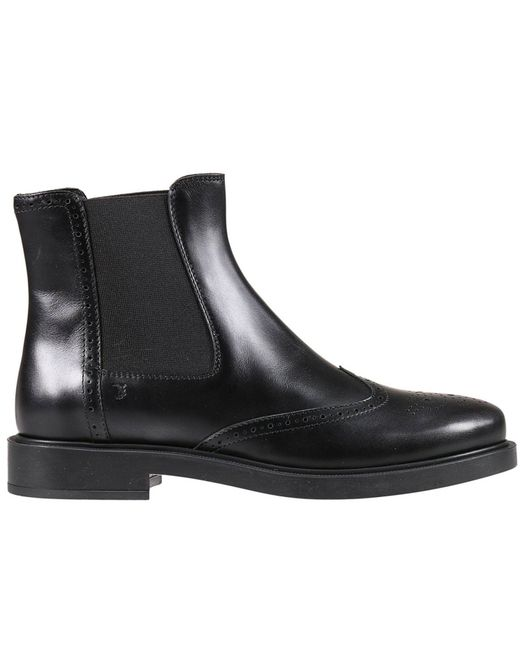 Tod's | Black Boots Shoes Woman | Lyst