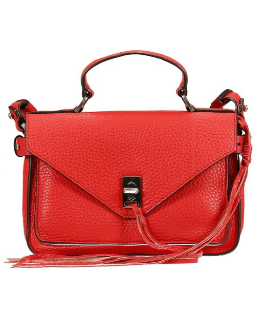 Rebecca Minkoff | Red Handbag Woman | Lyst