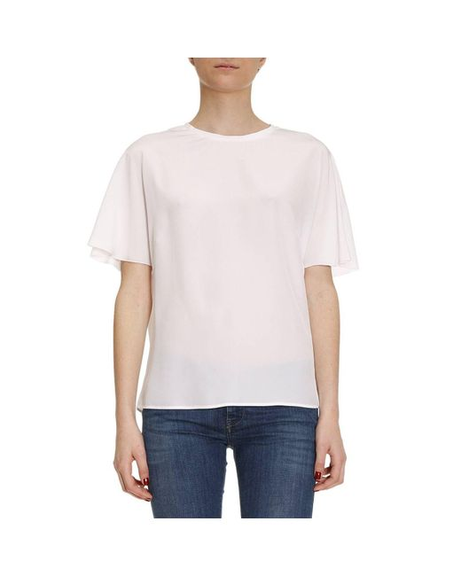 M Missoni | White Top Women | Lyst