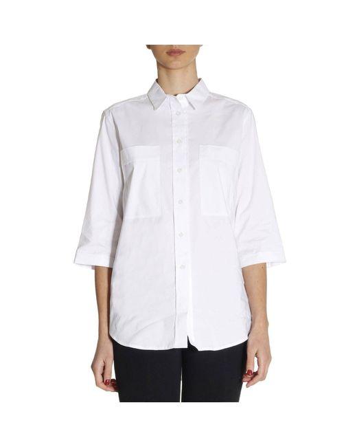 Armani Jeans | White Shirt Women | Lyst