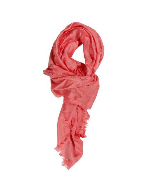 Armani Jeans   Pink Neck Scarf Foulard Women   Lyst
