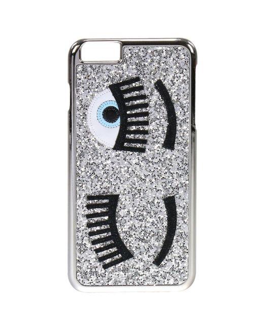 Chiara Ferragni   Metallic 'flirting' Iphone 6 Case   Lyst