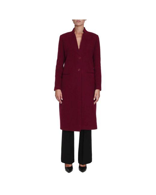Hanita   Red Coat Women   Lyst