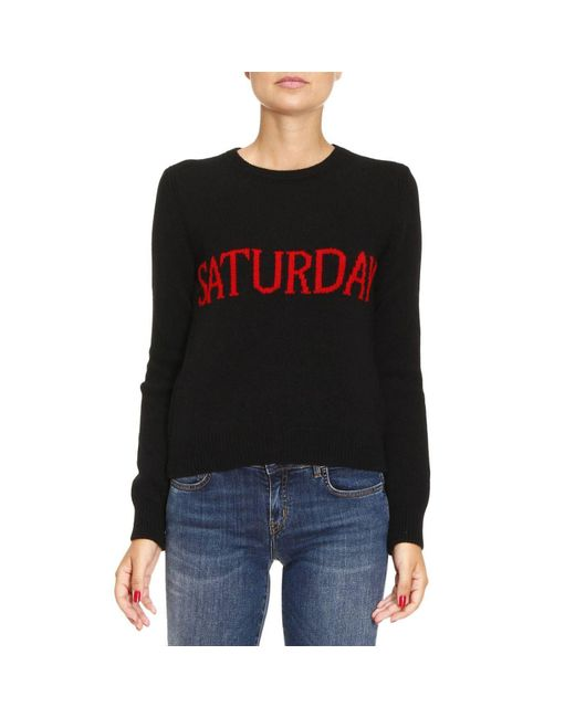 Alberta Ferretti | Black Sweater Women | Lyst