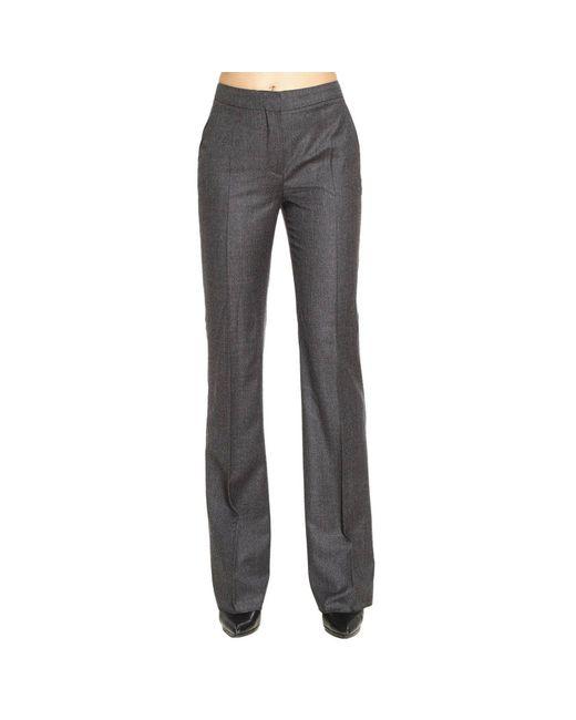 Max Mara | Gray Pants Women | Lyst