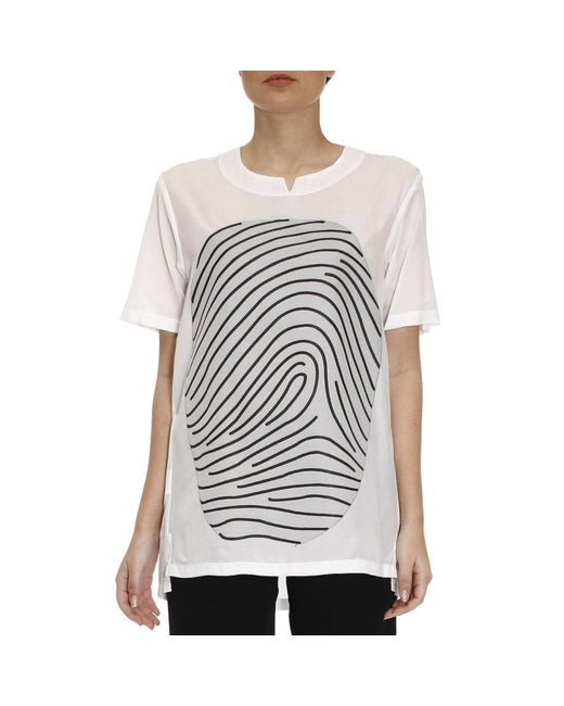 Emporio Armani - White T-shirt Men - Lyst