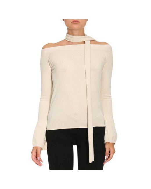 Twin Set   White Sweater Women   Lyst