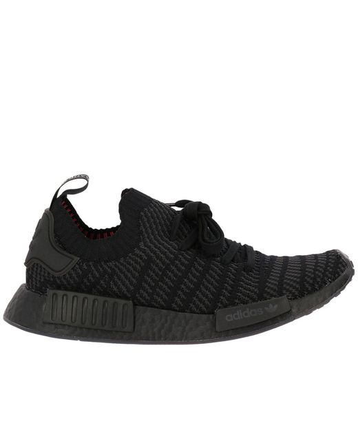 Adidas Originals - Black Nmd-r1 Stlt Pk Originals Sneakers With Micro Operated Effect for Men - Lyst