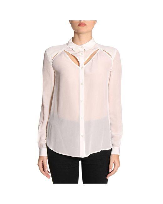 Pinko - Pink Shirt Women - Lyst