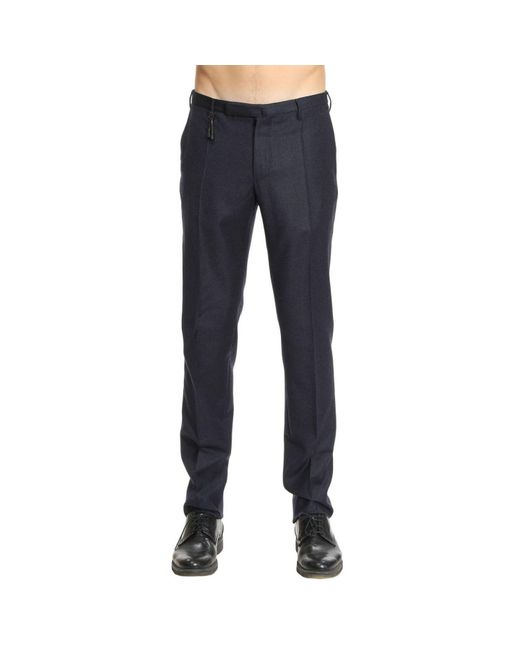 Incotex - Blue Pants Men for Men - Lyst