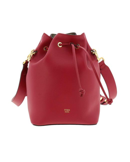 9ec5b06f8aa8 Fendi - Red Crossbody Bags Shoulder Bag Women - Lyst ...