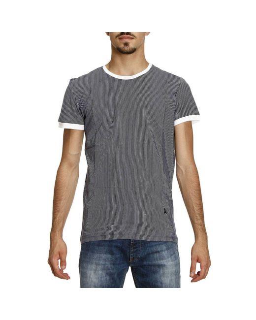 Patrizia Pepe | Blue T-shirt Men for Men | Lyst