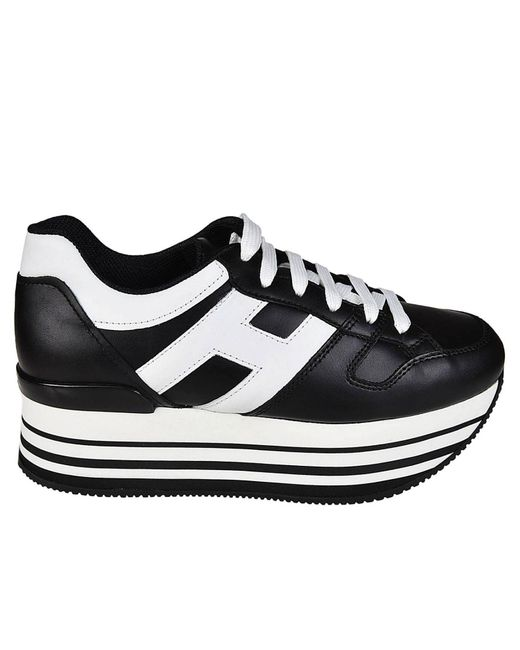 Hogan - Black Sneakers Shoes Women - Lyst