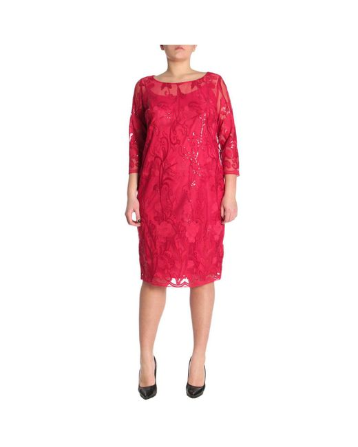 Marina Rinaldi - Red Dress Women - Lyst