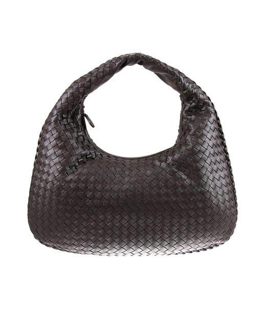 Bottega Veneta - Multicolor Veneta Medium Intrecciato Leather Shoulder Bag - Lyst