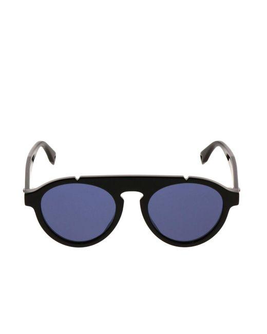 2923d43f711 Lyst - Fendi Glasses Men in Blue for Men