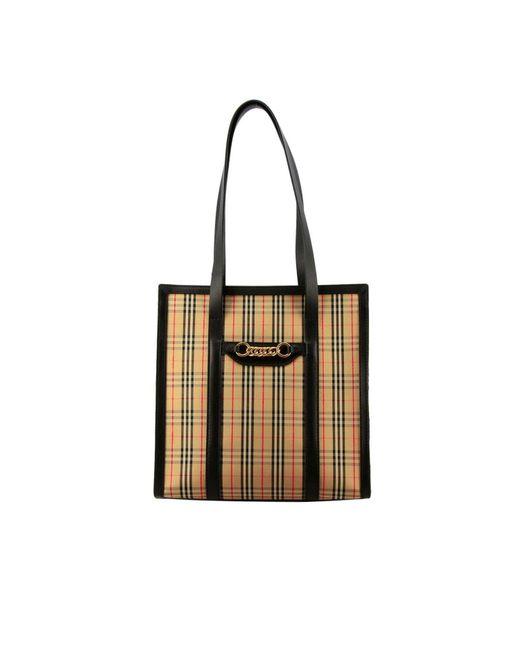 Burberry - Natural Shoulder Bag Women - Lyst ... 60322bf79beef